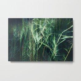 green green grass Metal Print