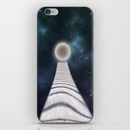 away to the moon iPhone Skin