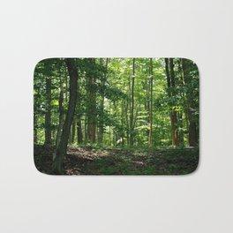 Pine tree woods Bath Mat