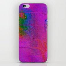 11-23-56 (Moving Circles Glitch) iPhone & iPod Skin