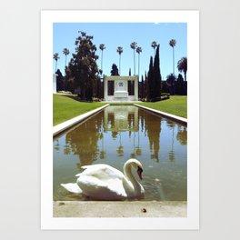 Tale Reflections Art Print