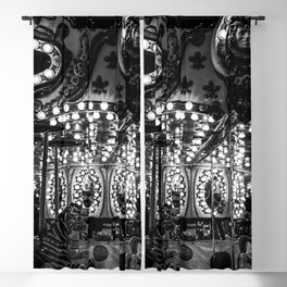 Dark Carousel Blackout Curtain