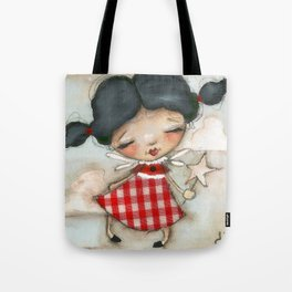 Fairy in Training - Dusty Tote Bag