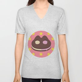 Cookie Cat! [textless] Unisex V-Neck