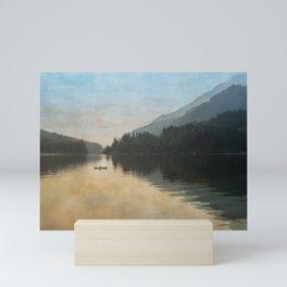 Lake Sutherand Sunset Mini Art Print