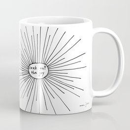 seek out the joy Coffee Mug