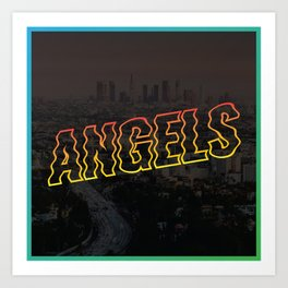 Los Angels Art Print