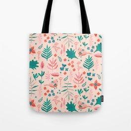 Pink Nature Tote Bag