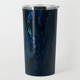 deep dark blue Travel Mug
