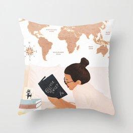 Good Read 03 Throw Pillow