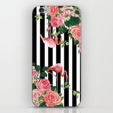 tropical flamingo iPhone & iPod Skin