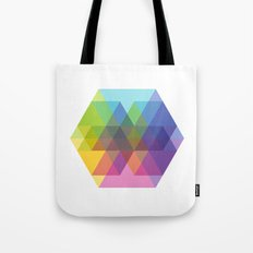 Fig. 040 Hexagon Shapes Tote Bag