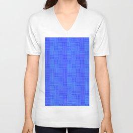 Interpretive Weaving (Nightfall) Unisex V-Neck
