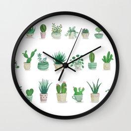 Tiny garden Wall Clock