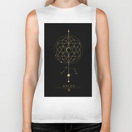 Aries Zodiac Constellation Biker Tank