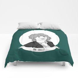 Ann Oakley Illustrated Portrait Comforters
