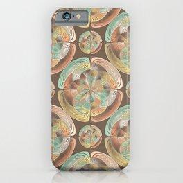 Complex geometric pattern iPhone Case
