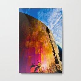Firewall Metal Print