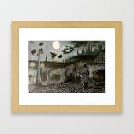 City of Yharnam Framed Art Print