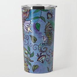 Oh, the Quiet Beauty of the Seahorse Travel Mug