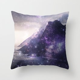 The Masks We Wore Throw Pillow