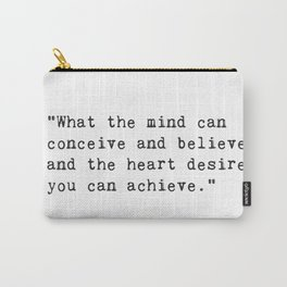 Norman Vincent Peale quote 2 Carry-All Pouch