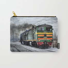 Locomotive (Train in Russia)  Carry-All Pouch