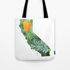 California Poppy in NorCal - State Flower Tote Bag