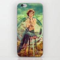 cigarette iPhone & iPod Skins featuring Cigarette Break by Ryan Haran