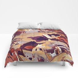 Liquid Beige Comforters