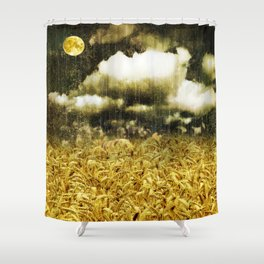 The Golden Age Shower Curtain
