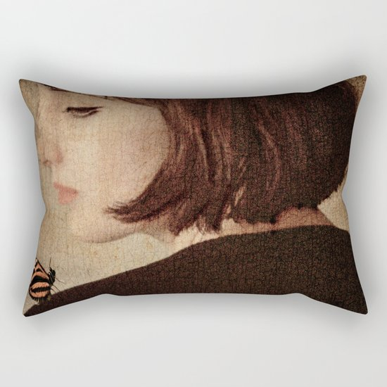 A Visit Rectangular Pillow