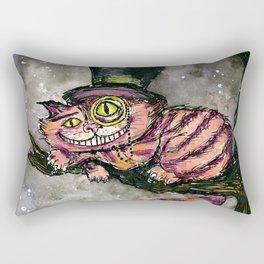 Cheshire Cat Rectangular Pillow