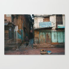 Streets Canvas Print