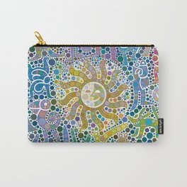 Colored Fauna with Sun Carry-All Pouch