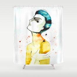 Go hug yourself Shower Curtain