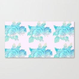 Loose Watercolor Bouquet Canvas Print