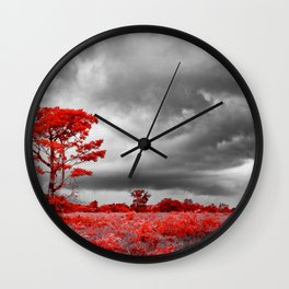 Surreal Forest Wall Clock
