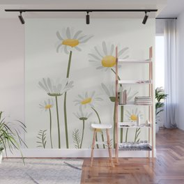 Summer Flowers III Wall Mural