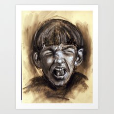 Scream #19 Art Print
