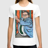 snl T-shirts featuring SNL Chris Farley as Matt Foley by Portraits on the Periphery