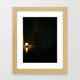 Istanbul View Framed Art Print