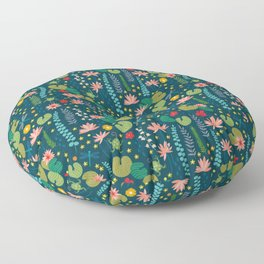 Lily Pad Floor Pillow