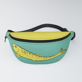 Yellow Fish Fanny Pack