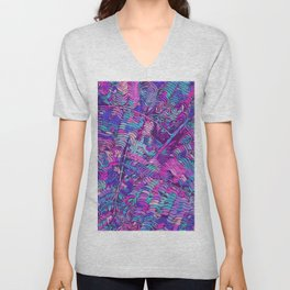 Colourful Jungle Jamboree Unisex V-Neck