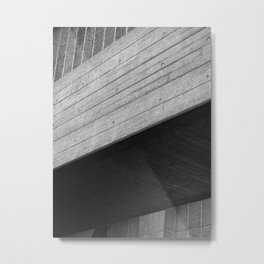 span - brutalist concrete Metal Print
