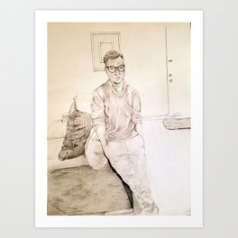 Young Swag Art Print