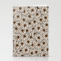 daisies Stationery Cards featuring Daisies by Marta Li