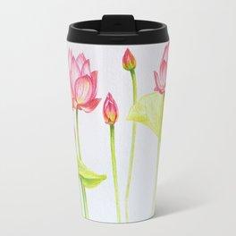 Porcelain lotuses Travel Mug