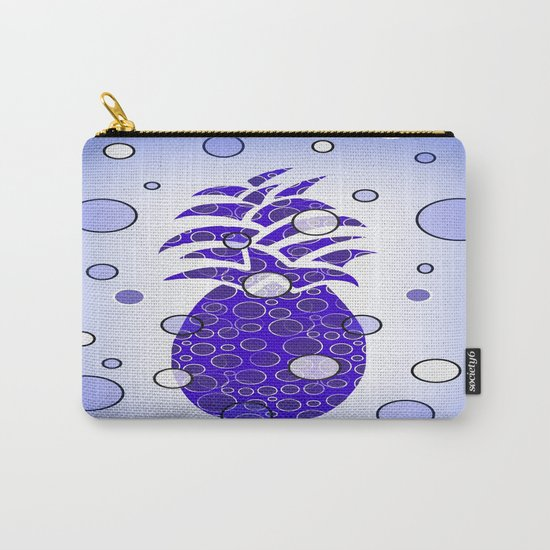 Blue Pineapple Carry-All Pouch